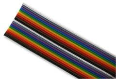 PRO POWER PP001506  Ribbon Cable, 20Core, 24Awg, 300V, 25M